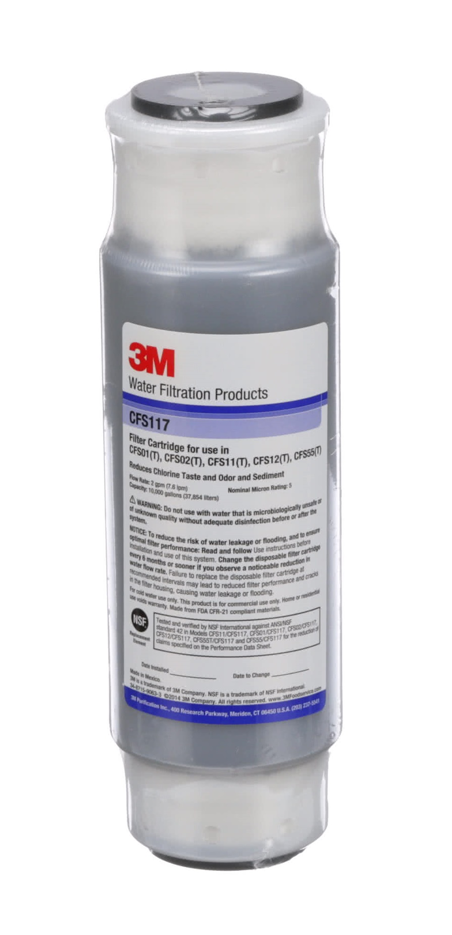 3M Cuno Filters 5559304 Cartridge Replacement CFS117