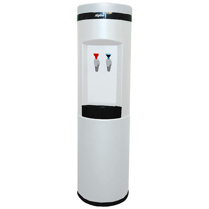 Alpine Eliminator 6700-POUW Floor Model Hot/Cold Water Cooler