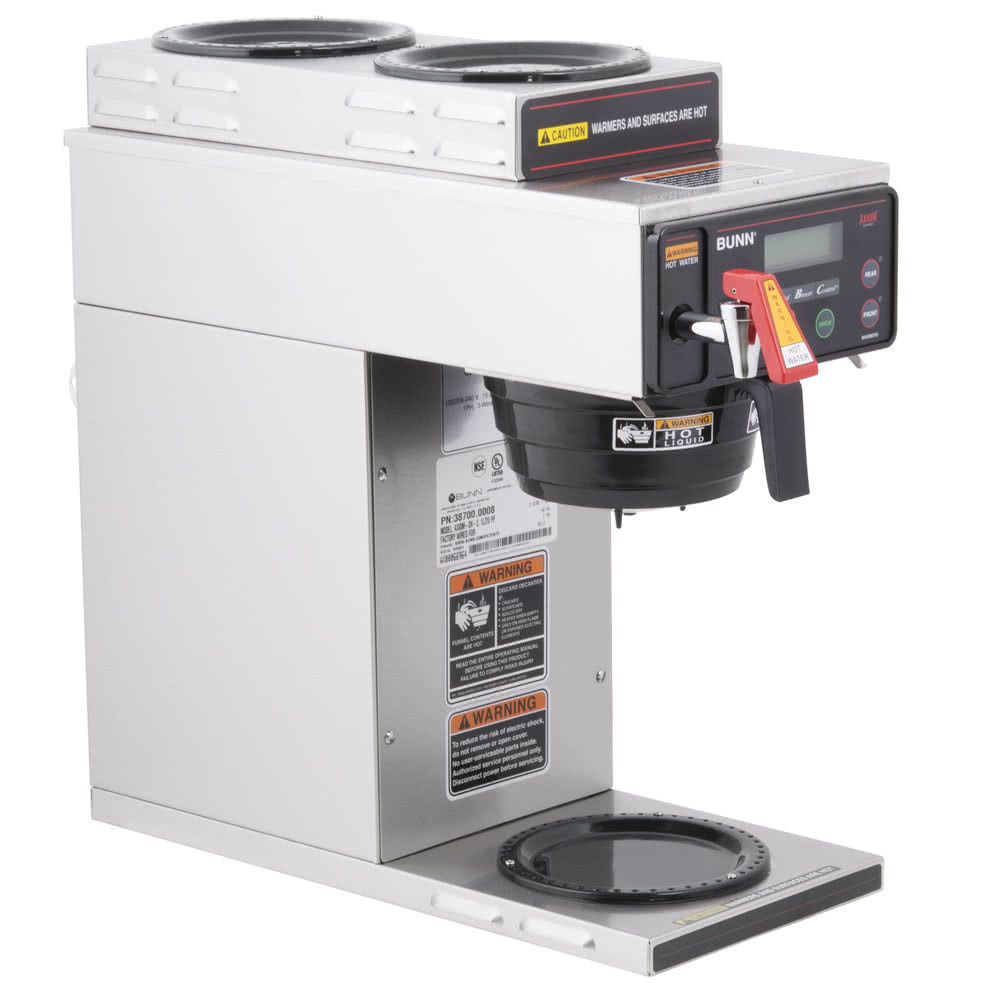 Bunn AXIOM-DV-3 1LWR 2UPR Warmer Automatic Coffee Brewer