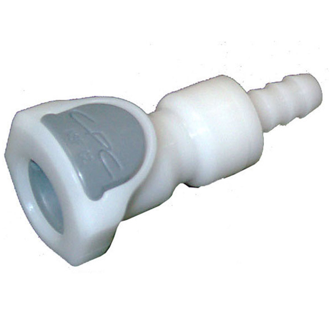 Colder Products CP407 In-Line Hose Barb Socket 1/4 Barb