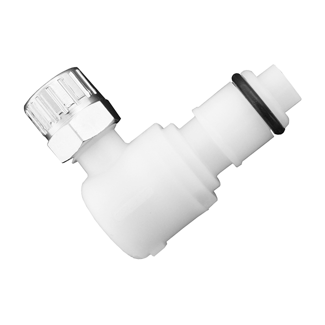 Colder Products CP430 Elbow Poly Compression Plug 1/4