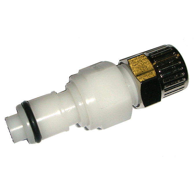 Colder Products CP434 In-Line Poly Compression Plug 1/4