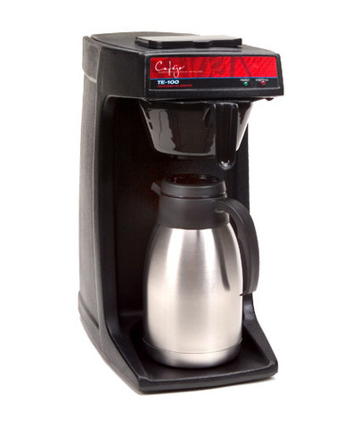 Cafejo TE-118 Pourover Thermal Carafe Coffee Brewer