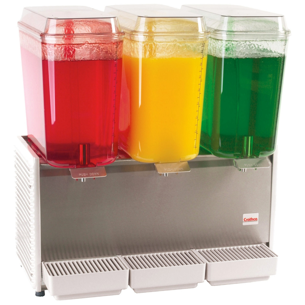 Crathco D35-4 Three Flavor Cold Beverage Dispenser