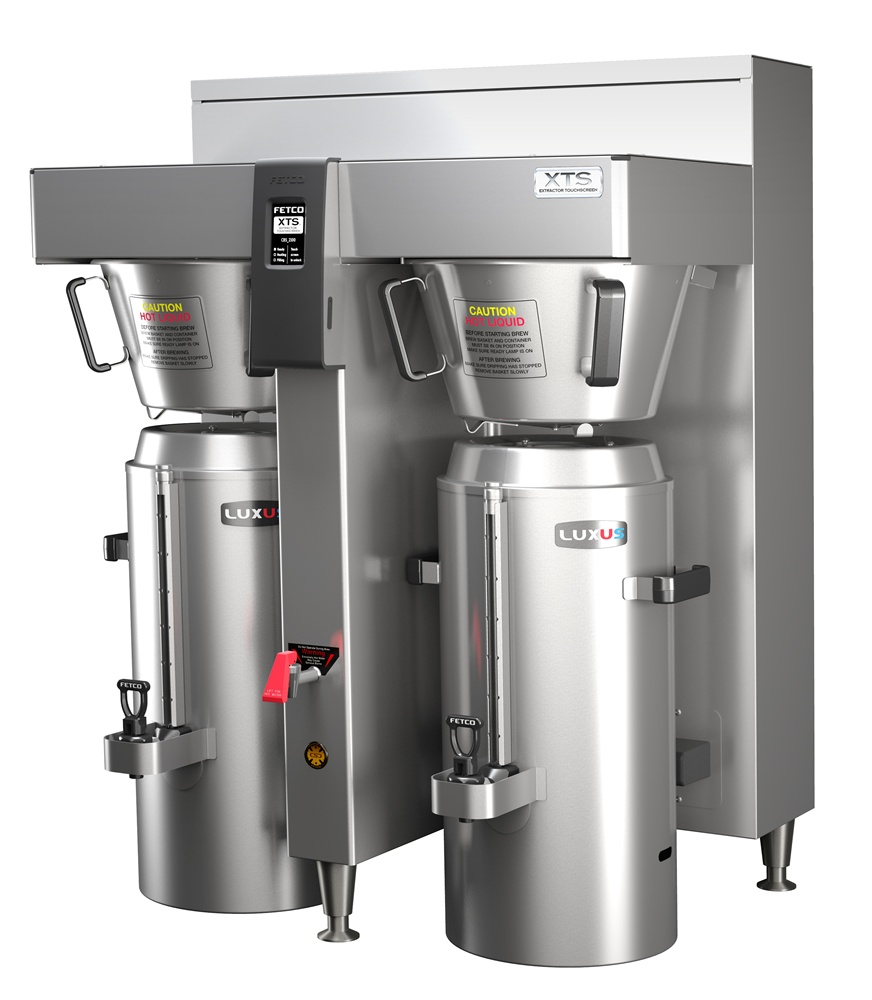 Fetco CBS-2162XTS E216251 Twin 3.0 Gallon Thermal Brewer