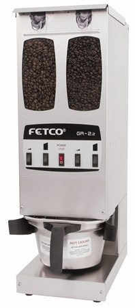 Fetco GR 2.2 Dual Hopper Grinder with 2 Portions per Side