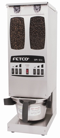 Fetco GR 2.3 Dual Hopper Grinder with 3 Portions per Side