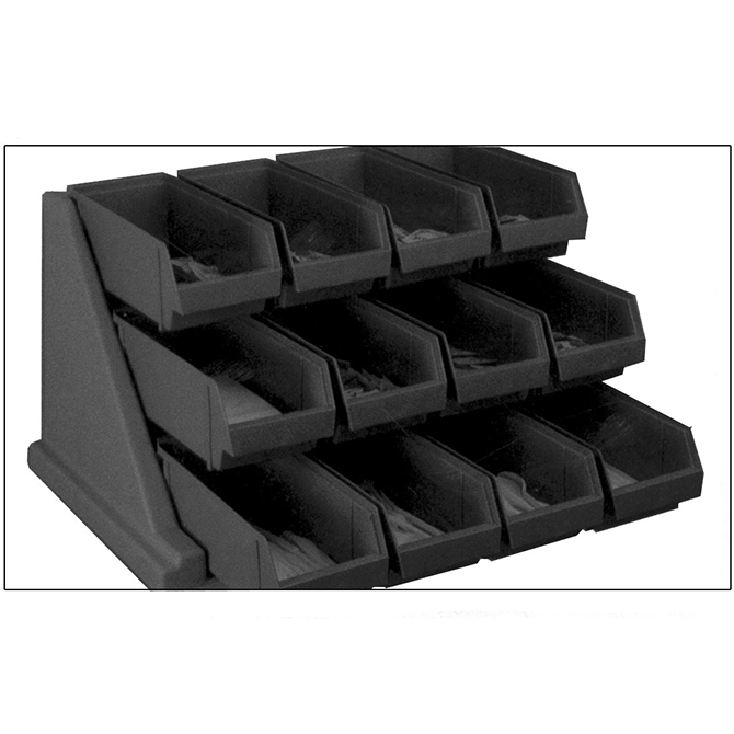 HHD 12RS12 Versa Organizer Rack with 12 Bins