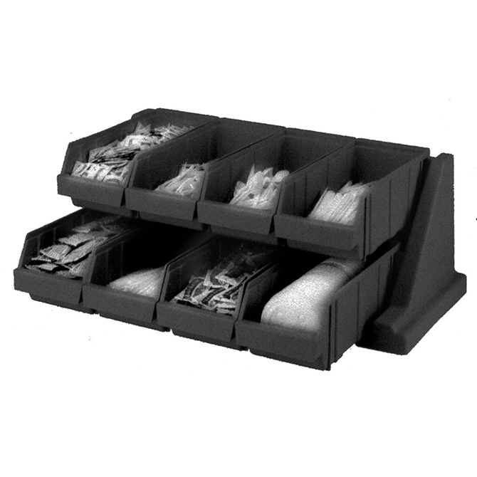 HHD 8RS8 Versa Organizer Rack with 8 Bins