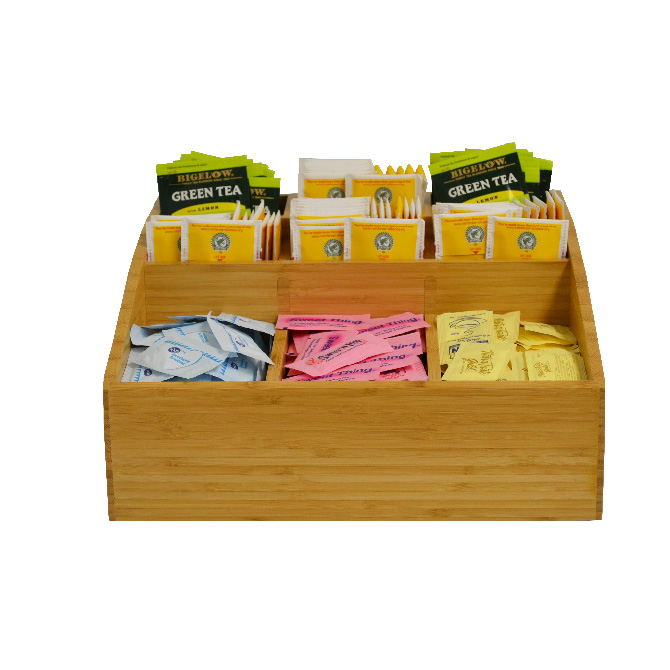 HHD BCR Bamboo Condiment Rack 9 Selection