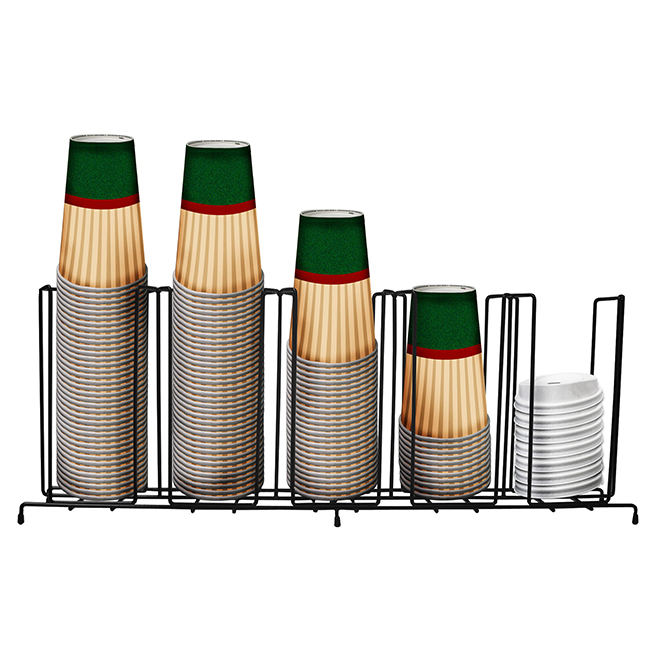 Hhd Clf5 Wire Cup Rack 5 Selections  Hhd Clf5