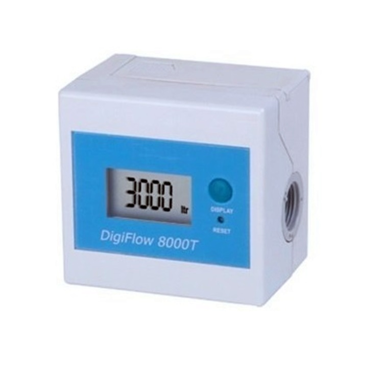 "HHD DF8000 Digiflow Water Flow Meter With 3/8"" NPT In/Out"