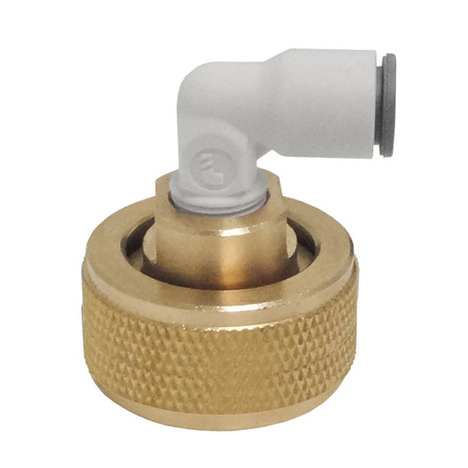 HHD FBSPEG4 Female Garden Hose BSP with 1/4 Quick Connect Elbow