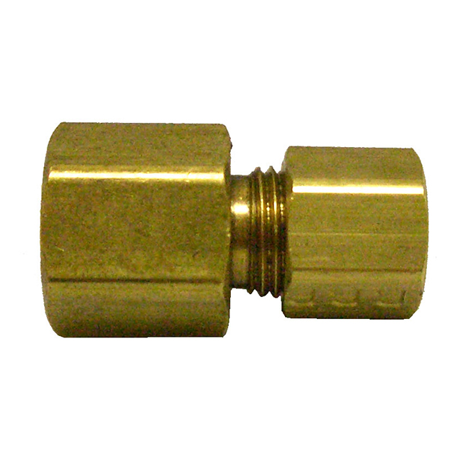HHD FCC4 Female Connector 1/4 Tube x 1/4 FPT