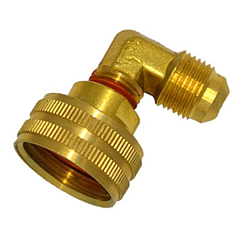HHD FGHEF4 Female Garden Hose Adapter 1/4 Male Flare Swivel
