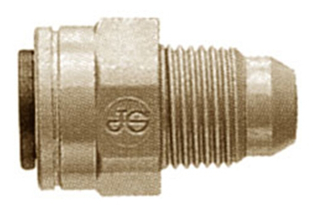 John Guest GMFC4 Male Flare Connector 1/4 Tube x 1/4 Flare (10)