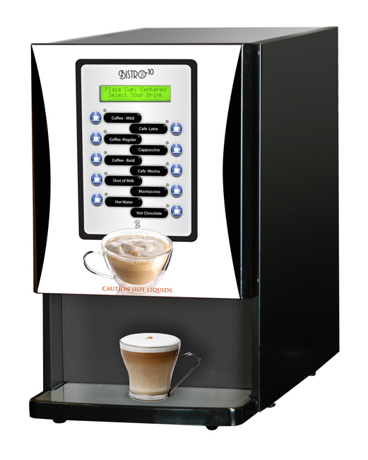 Newco 123000-BPC Bistro 10 Liquid Coffee Specialty Drink Machine
