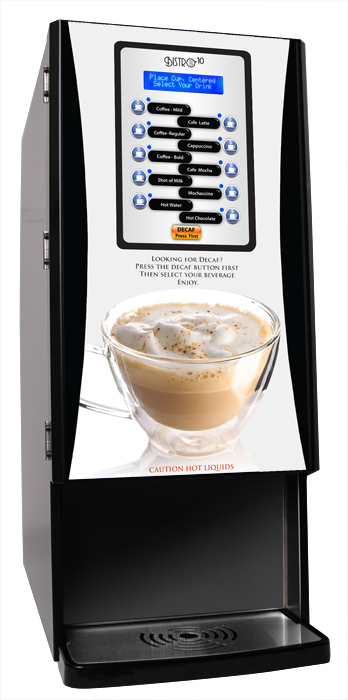 Newco 123033-BPC Bistro 10 Liquid Coffee Specialty Drink Machine