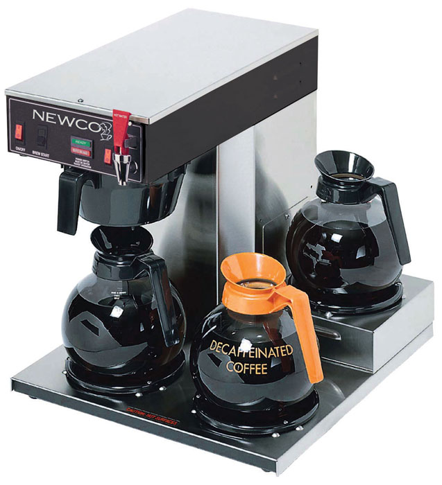 Newco ACE-LP 3 Warmer Low Profile Coffee Brewer