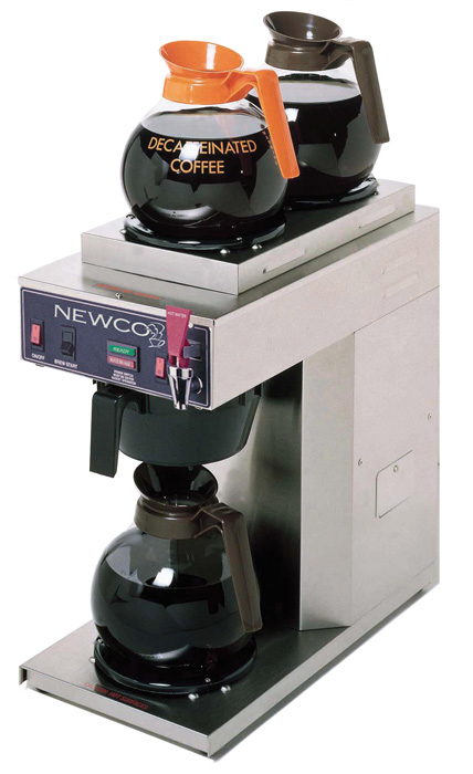 Newco ACE-S 1LWR 2UPR Warmer Automatic Brewer
