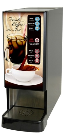 Newco 121330-BPC LCD-1 1 Selection Hot/Ambient Liquid Coffee