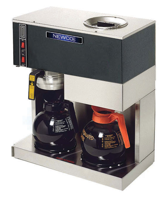 Newco RC-2 Two Warmer Pourover Decanter Brewer