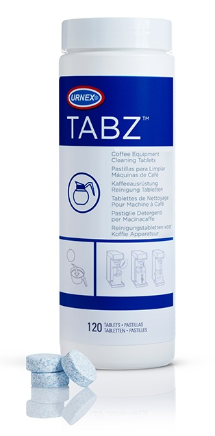 Urnex TABZ120 Coffee Brewer Cleaning Tablets