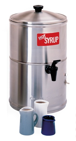 Wilbur Curtis SW-2 Two Gallon Syrup Warmer