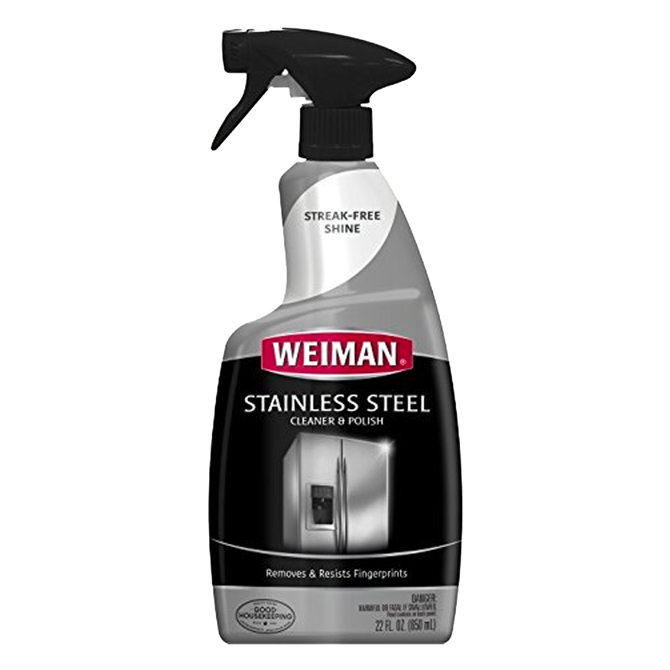 Weiman WG108-1 Stainless Steel Cleaner and Polish 22 oz.
