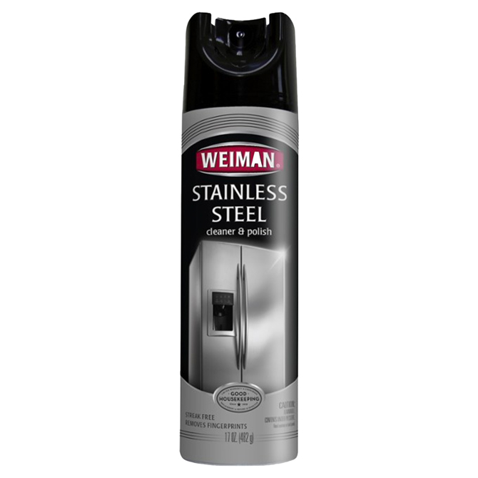 Weiman WG49-1 Stainless Steel Cleaner and Polish 17 oz. Aerosol