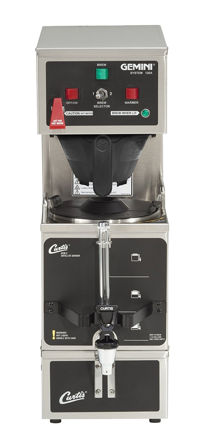 Wilbur Curtis GEM-120A-10 Single 120 Volt Shuttle Brewer
