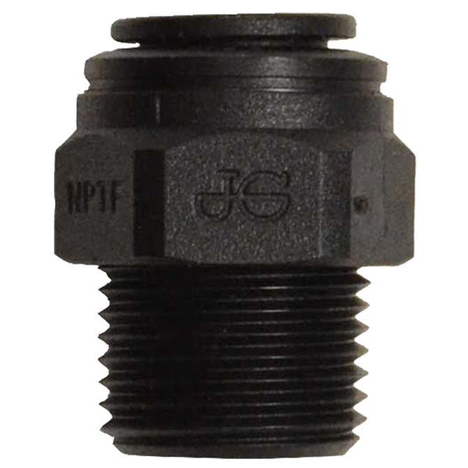 Male Connectors - Black