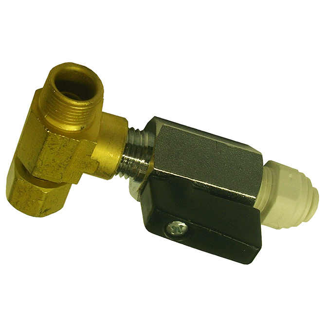 Max Adapter with Ball Valve
